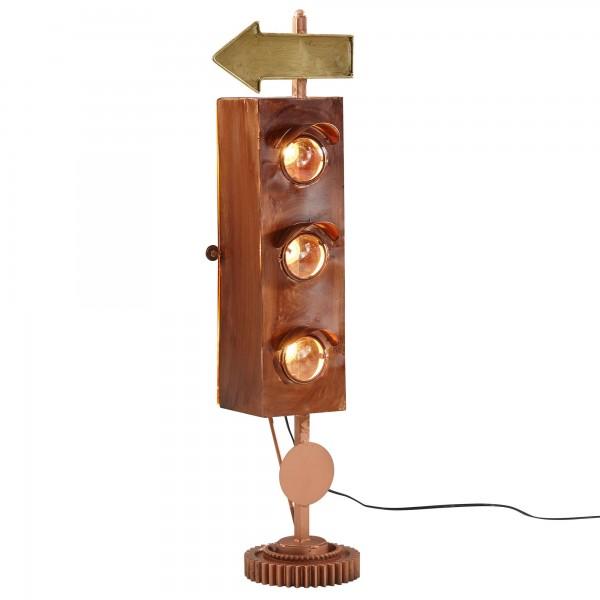 """Tischlampe """"Brina"""" Vintage Look 23x91,5x19cm Dekolampe Stehlampe"""