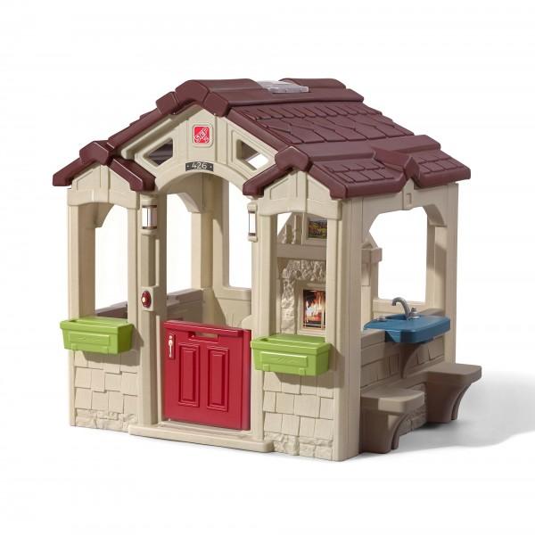 "Kinderspielhaus ""Nicklas"" aus Kunststoff 127,3x149,2x147,3cm bunt"