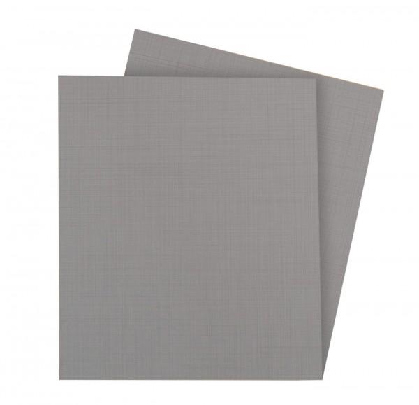 "Einlegeböden Set ""Hoope"", 2-tlg oder 3-tlg, grau, für Schränke, Rastermaß 50/100cm"