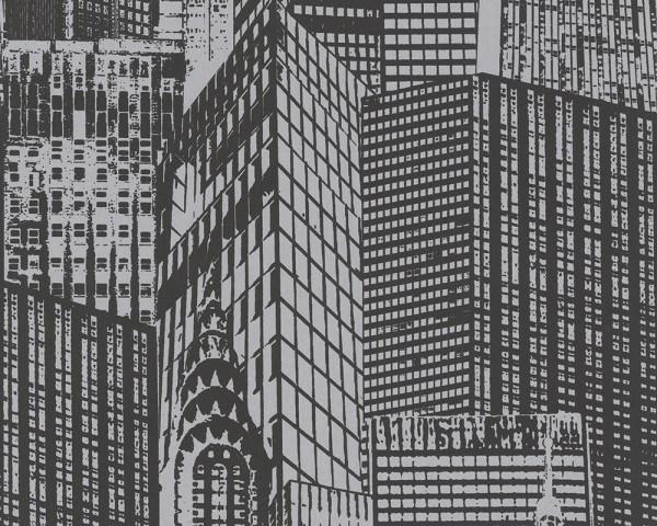"pop.up Panel 3D ""Mega City"" selbstklebende Tapete"