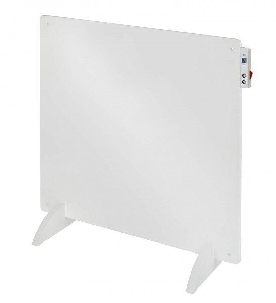 "Standkonvektor ""Age"" Wärmekonvektor weiß 60x4x60cm 400W LCD in-control"