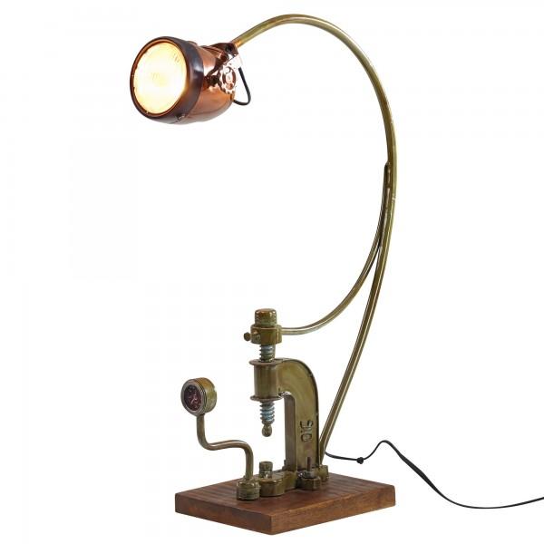 """Tischlampe """"Marlene"""" Vintage Look Metalllampe 21,5x79x52,5cm Dekolampe Stehlampe"""