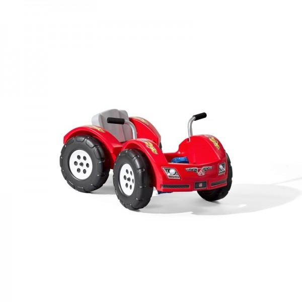 "Kindertretauto ""Trails"" in rot aus Kunststoff 98x56x46cm Kinderauto Tretauto"