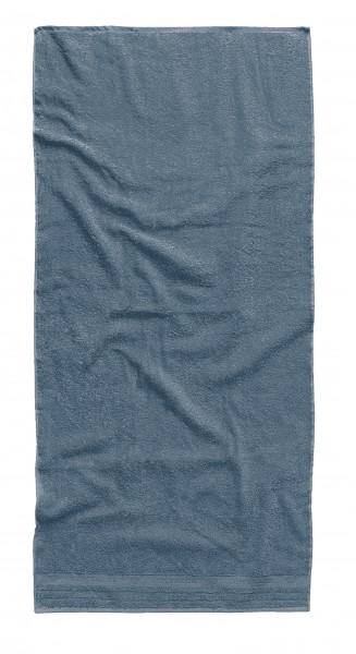 "Tom Tailor Liegetuch Uni Basic Towels ""Jeans Star"", jeansblau, 80 x 200 cm"