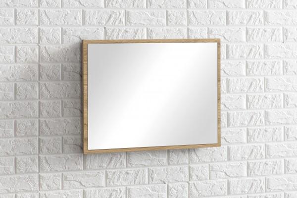 """Wandspiegel """"Judy 1"""", Alteiche, Badezimmerspiegel, 45 x 60 x 2 cm, Badezimmer, Spiegel"""