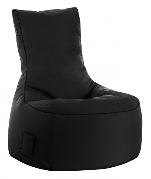 Sitzsack Magma Scuba Swing 300l, Sitzsack Outdoor & Indoor wasserabweisend schwarz