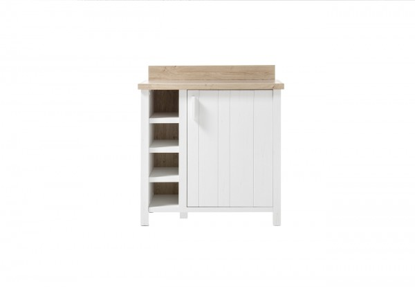 Kommode, Sideboard, Wohnzimmer, Mare I, Beauty.Scouts, Pinie weiss,
