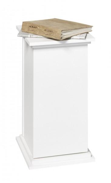Dekosäule 'Style' mit Innenraum weiss Schrank Dekoschrank Schränkchen
