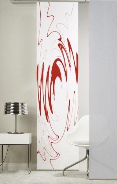 Emotion Textiles 1er Flächenvorhang Schiebevorhang BeCool Rot incl. Montagesatz