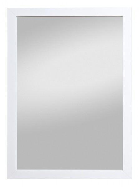 Wandspiegel Badspiegel Rahmenspiegel Kathi Weiß (HxB) 68 x 48 cm