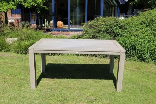 """Gartentisch """"RedMokka II"""" (BLH) 180x90x77 cm Tisch Esstisch Holztisch grau"""