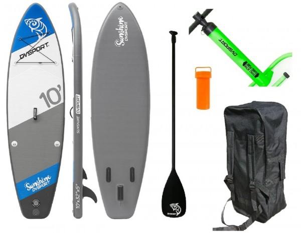 "Stand-Up-Paddle ""Adventure Sport No.6"" blau 305x81x12,7cm SUP Paddling"