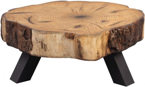 """Couchtisch """"Glenn"""" Magnesia Holznachbildung 85x35x85cm Tisch Sofatisch Beistelltisch"""