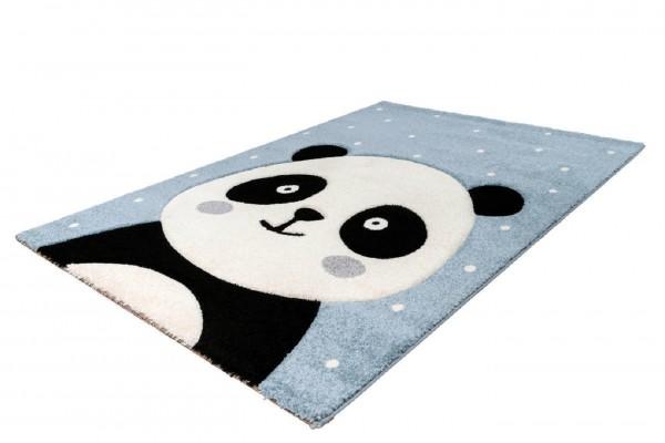 """Kinderteppich """"Miro"""" blau 80x150cm 120x170cm Teppich Kurzflorteppich Spielteppich"""