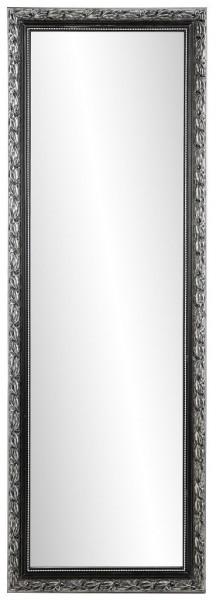 """Rahmenspiegel """"Linda"""" schwarz silber 50 x 150 cm Wandspiegel Spiegel Wanddekoration"""