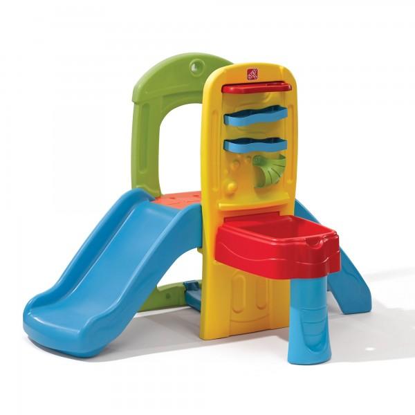 """Klettergerüst """"Pia"""" aus Kunststoff bunt mit Rutsche + Bällelabyrinth 90,8x135,3x97,2cm Spielecenter"""