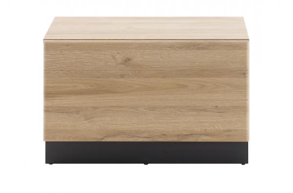 """Lowboard """"Ruby III"""" Grandson Oak hell Dekor 70x46x48cm Sockel in schwarz TV-Board"""