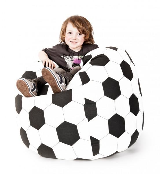 Sitzsack Magma Fussball XL
