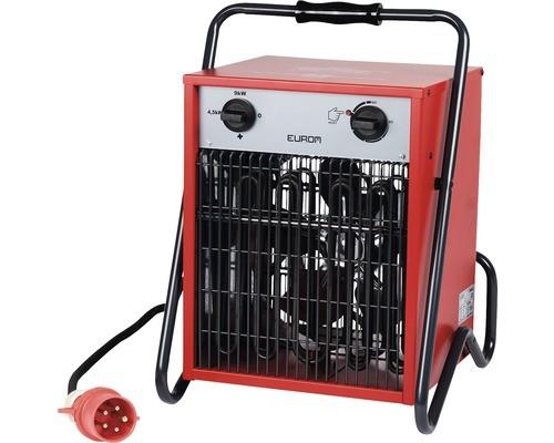 """Werkstattheizung """"Alron"""" rot 43x40x55cm 9000W elektrische Heizung Garagenheizung"""