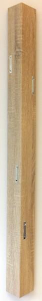 "Wandgarderobe ""Fiete"", 115 x 12 x 8 cm, Sonomaoptik, Garderobe, Flurgarderobe, Flur"