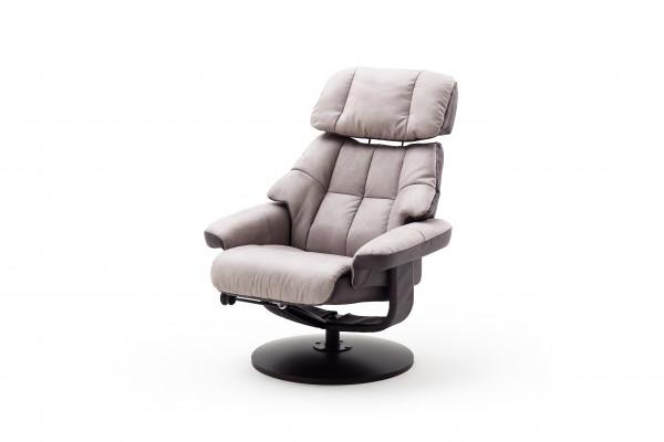 "Relax Sessel ""Amani"" grau/graphite Polyester Metall 130kg belastbar 82x102x85cm Wohnzimmersessel"