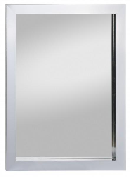 Beauty Scouts Spiegel Wandspiegel Rahmenspiegel Nuance weiß glanz 78 x 55 cm
