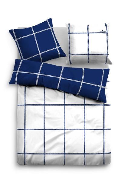 TOM TAILOR Linon Bettwäsche 135 x 200 cm 100/% Baumwolle mit Reißverschluss