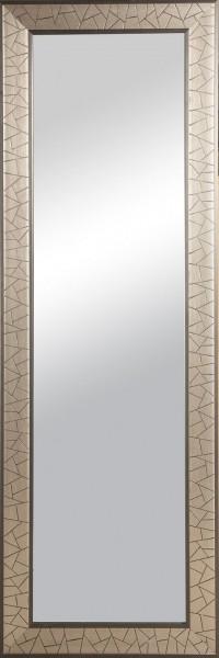 """Rahmenspiegel """"Anna"""" , silber gebürstet, mit Rahmen, ca. 50 x 150cm Wandspiegel Spiegel"""