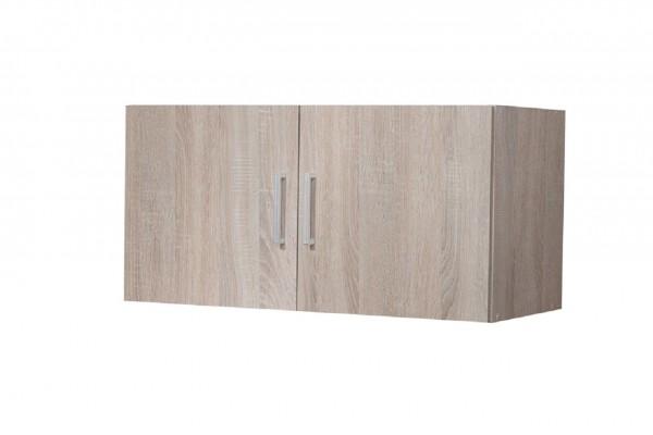 """Aufsatz-/Hängeschrank """"Veronika 3"""", Sonoma Eiche, 2 Türen, 80 x 40 x 39 cm"""