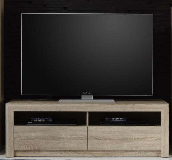 """TV-Unterteil """"Ida"""", Sonoma Eiche hell NB, Lowboard, TV-Unterschrank, 140 x 46 x 48 cm"""