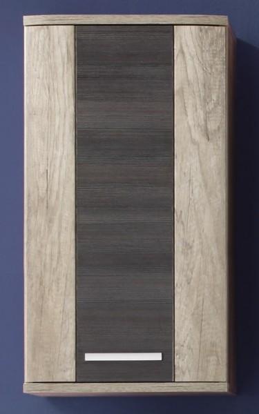 """Hängeschrank """"Patricia"""", 40 x 75 x 22cm, Eiche Monument Oak/Touchwood, Badezimmerschrank, Badezimmer"""