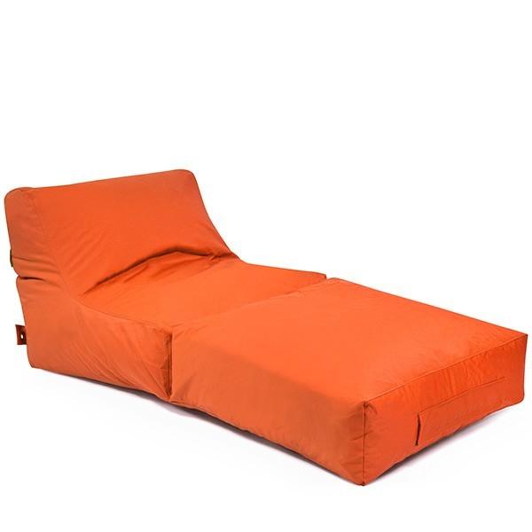 Pushbag Sitzsack Peak Plus (100% Polyester),180x90x90x75cm, 700l, orange