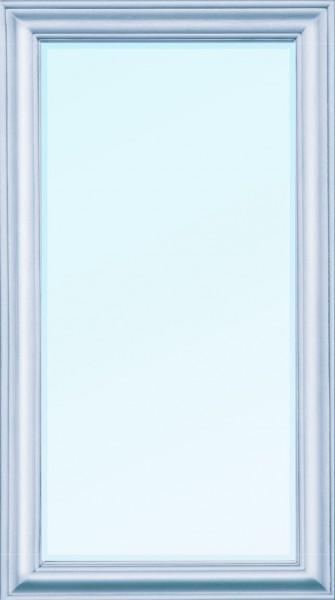 "Wandspiegel ""Chloé"" Silber 132x72x7 cm"