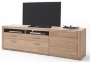 "Lowboard ""Anriel IV"" Board, Eiche Bianco, 179x54x51cm, TV-Element, TV-Board, TV-Schrank"