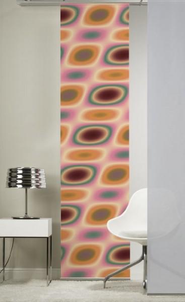 Emotion Textiles 1er Flächenvorhang Schiebevorhang Sixty bunt incl. Montagesatz