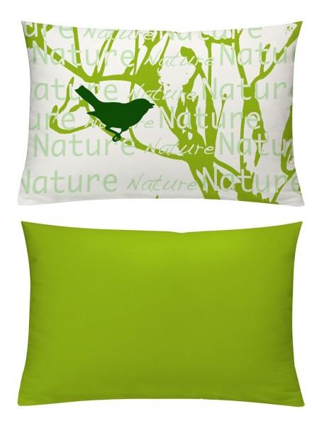 Kissenhülle Nature grün