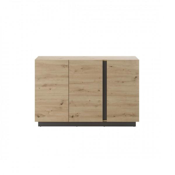 """Sideboard """"Helene"""" Eiche Artisan Dekor 3-Türer 138x91x40cm Wohnzimmerschrank Board Schrank"""