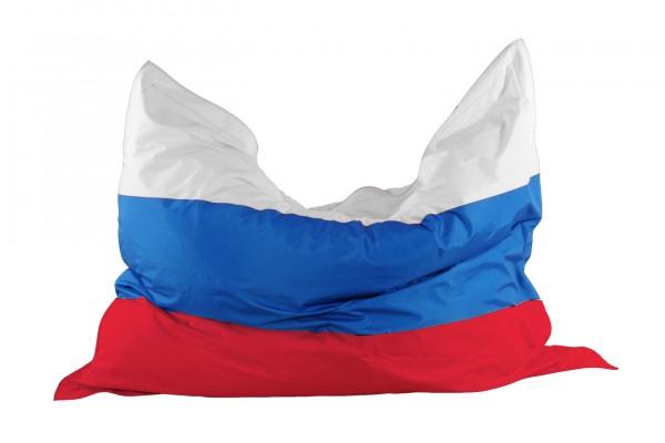 """Kinzler Sitzsack """"Russia"""" Indoor und Outdoor geeignet Länderflagge 130x170cm"""