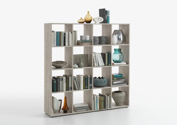 """Raumteiler """"Noru I"""" Sandeiche Nachbildung Bücherregal"""