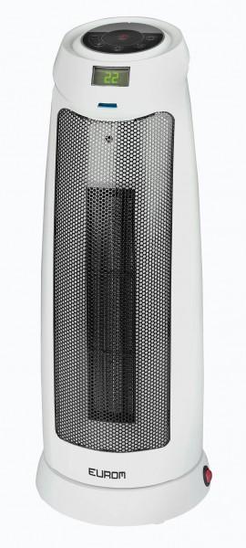 """Standlüfter """"Jaron"""" Heizlüfter weiß 21x21x54cm Elektrische Heizung Standheizung"""