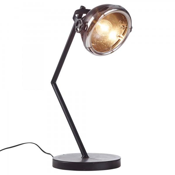 "Tischlampe ""Carmen"" Vintage Look Metallampe 23x55x46cm Dekolampe Stehlampe"