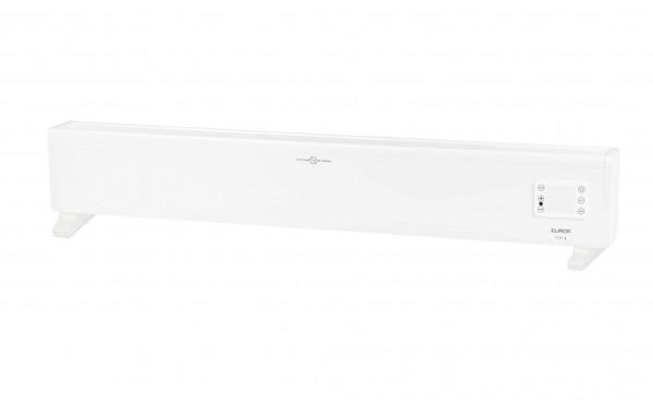 "Standheizkörper ""Hina"" Konvektor Alu weiß 10x112,5x17cm 2000W WiFi Heizung"