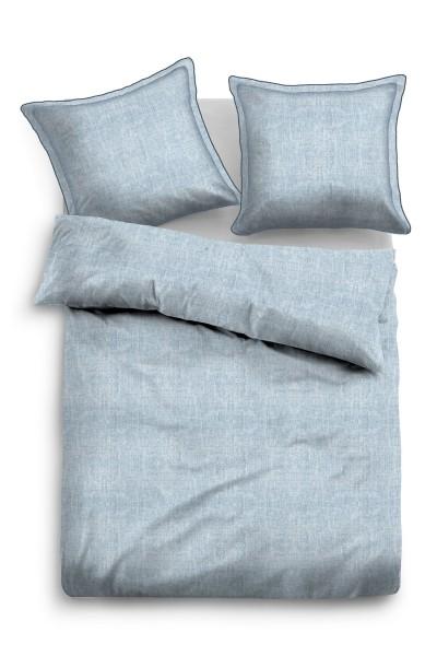"Tom Tailor Linon-Bettwäsche ""Pia"", jeans, Bettwäsche, Bettbezug"