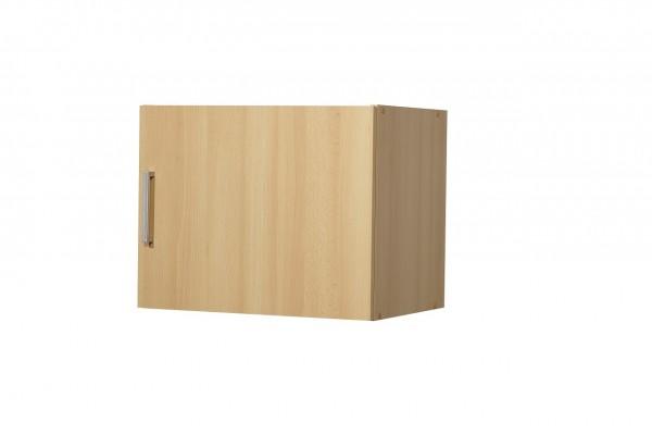 """Aufsatz-/Hängeschrank """"Valerie"""", Buche Dekor, 1 Tür, 50 x 40 x 39 cm"""