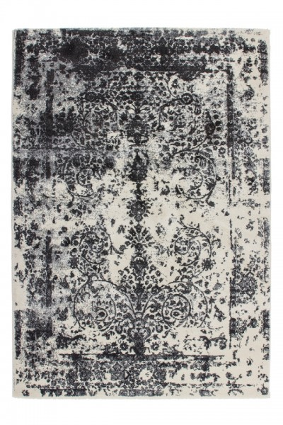 """Beauty.Scouts Hochflorteppich """"Mujeres"""" silber,weiß,schwarz 80x150 cm, 120x170 cm, 160x230 cm"""