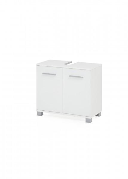 """Waschtischunterschrank """"Judy 6"""", 60 x 56 x 32 cm, weiß, 2 Türen"""