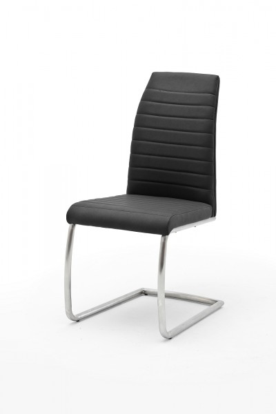 Schwingstuhl Kikoo 2er Set Stuhl Schwinger Anthrazit 44x100x63