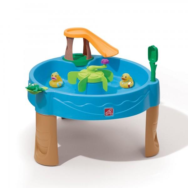 """Wasserspieltisch """"Atlantis"""" aus Kunststoff 80x80x62,2cm Sand- und Wassertisch"""