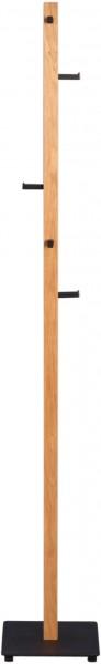 """Kleiderständer """"Grace"""", massive Wildeiche, 6 Haken, 28 x 182 x 28 cm"""