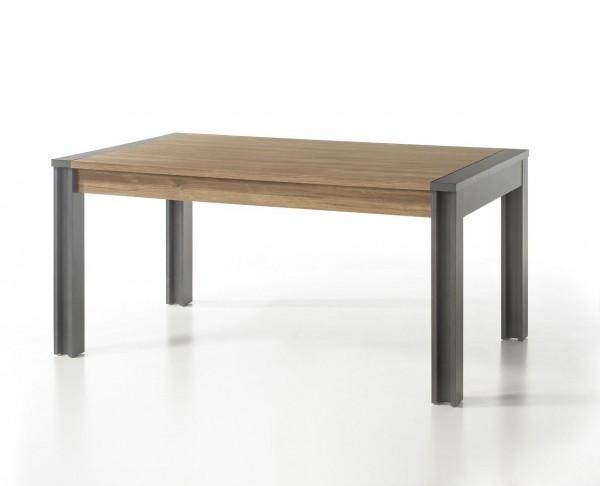 """Esstisch, Tisch, Esszimmer, Industrie Design, """"Java"""" Beauty.Scouts, 6 Personen, Stirling Oak Nachbildung, 155x 76x 90 cm"""